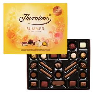 Thorntons Summer Selection Box (303g) - 5 for  £20, effective £4 per box + £3.95 del