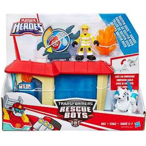 transformers rescue bots - griffin rock garage £6.60 (+£3.99 del) @ The Entertainer