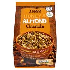 Tesco Honey and Almond Granola 1Kg just £1.50