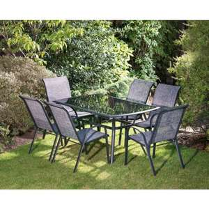 7 piece patio set - £139.99 @ B&M