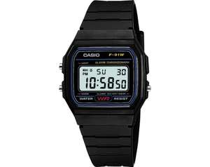 £7.49 Casio Men's LCD Black Resin Strap Watch @ Argos C/C YOU KNOW YOU NEED THIS