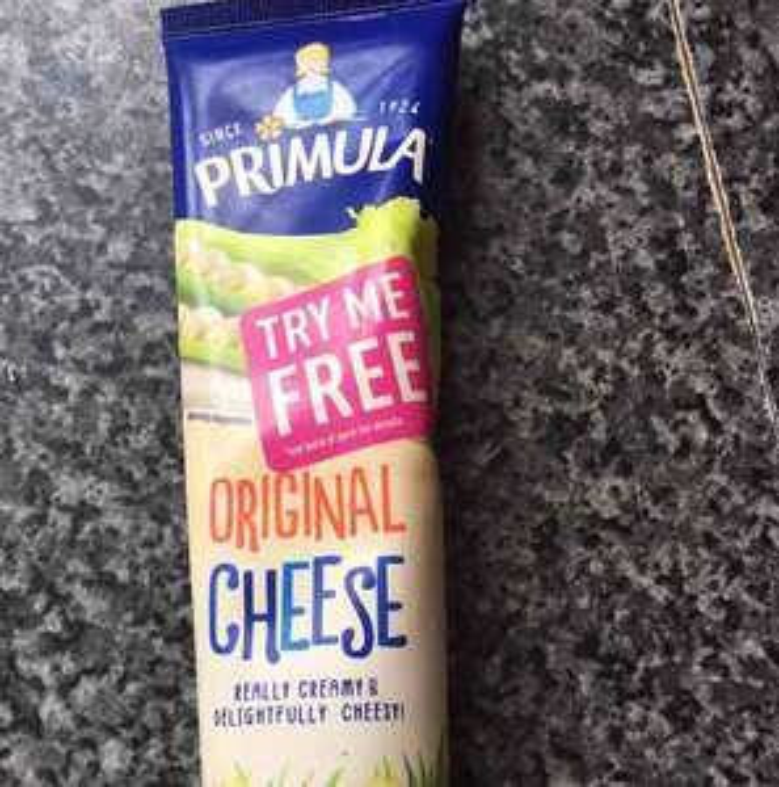 FREE tube of Primula Cheese via claim back (Primula Try Me Free) - £1.44