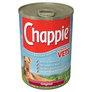 Chappie Dog Original, 12x 412g Tins for just 60p (Amazon Addon Item)