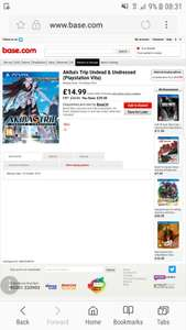Akiba's Trip Undead & Undressed (Playstation Vita) @ Base.com for £14.99