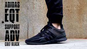 Adidas eqt black trainers £59.99 down from £75 at Footlocker
