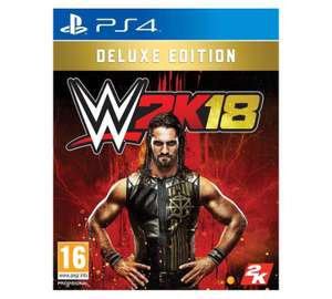 WWE 2K18 Deluxe Edition PS4 Game £67.99 @ Argos