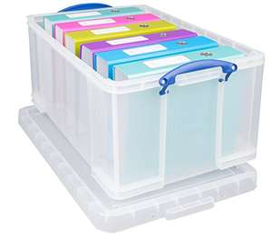 really useful box 64L(Frustration-Free Packaging) @ amazon £10.00 (Prime / non Prime postage £4.75)