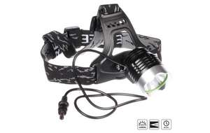 Halfords Advanced LED Rechargeable Head Light Torch £10