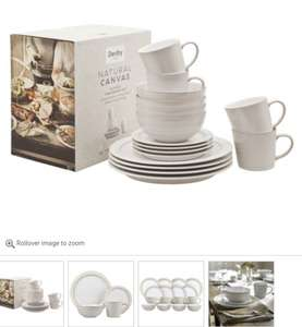 Denby Natural Canvas Tableware 16 piece £120 @ Palmers