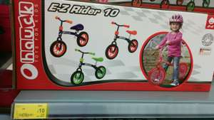 Hauk Ez rider 10 balance bike £10 @ Asda in store (Wembley)