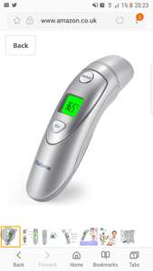 Metene Medical Forehead and Ear Thermometer £19.99 at Amazon