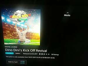 Dino Dini's Kick Off Revival PS4 £2.49 @ PSN