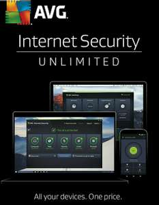 AVG Internet Security 2017 - 2 Year Unlimited Devices (PC)