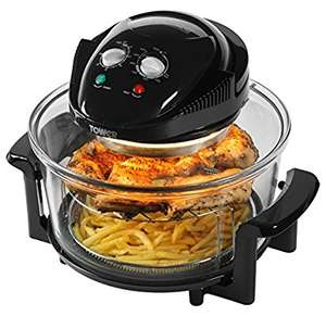 Tower Health T14001 Oil Free Halogen Air Fryer, 1300 Watt, 17 Litre, Black - was £99 now £29.99 @ Amazon