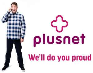 4gb 4G data - 2000 minutes - Unlimited texts - 30 days sim contract @ Plusnet Mobile via Broadband Choices  £9 month