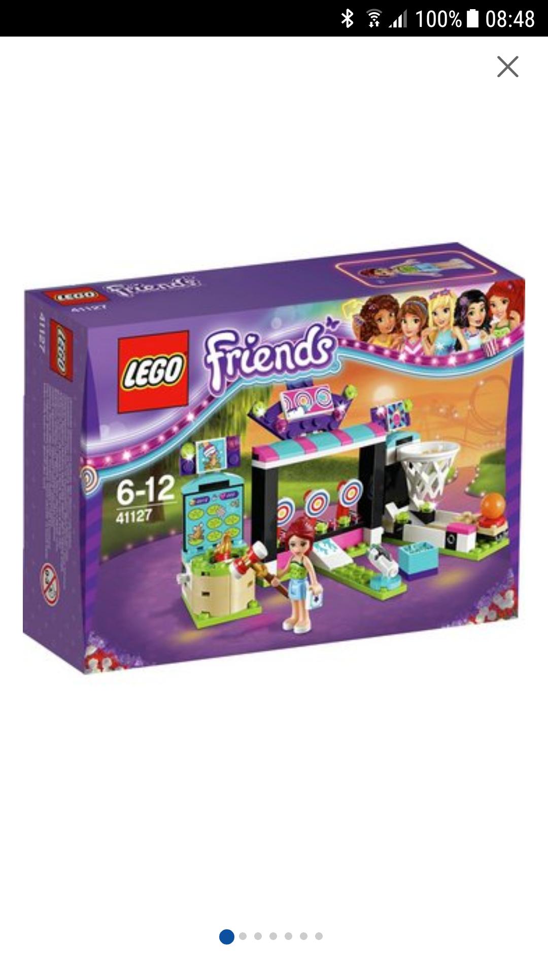 Lego friends amusement park arcade set 41127 £6.99 at argos