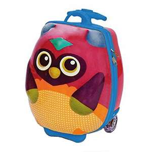 Oops Little Helper 3d Hi-moulded 2-in-1 Character Trolley Suitcase and Backpack in Vibrant Owl Design 25 liters Multicolour £21.33 Del @ Amazon (Sold by MICHINA TOYS and Fulfilled by Amazon)