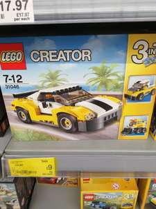 Lego creator fast car, 3 in 1 was £17.97 now £9 instore Asda livingston