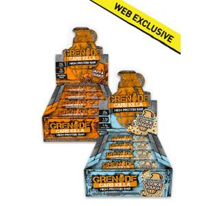 GRENADE Carb Killa Launch Special - ANY TWO BOXES £35 !! INCLUDING NEW CHOCOLATE CHIP COOKIE DOUGH FLAVOUR W/FREE DELIVERY