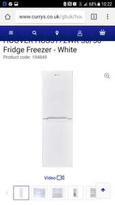 Hoover fridge freezer £229.99 @ Currys