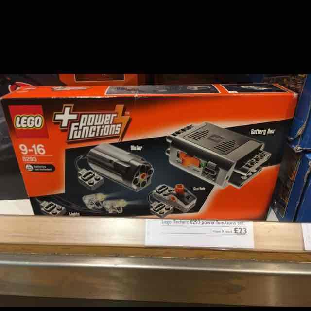 lego 8293 power functions set £23 @ John Lewis (Cardiff)