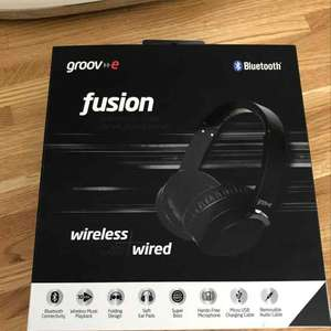 Tesco groove Bluetooth headphones £7.25 instore Tesco south wigston Leicester