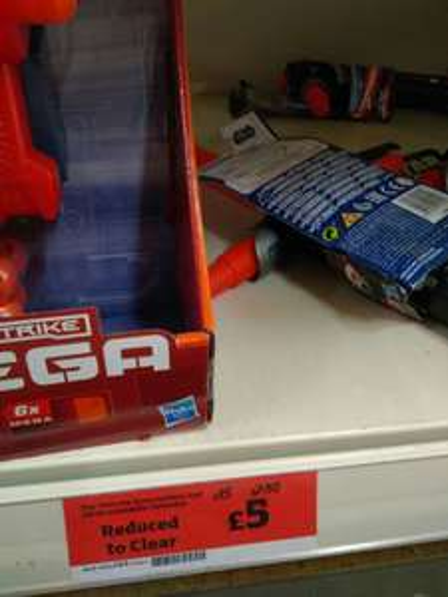 Genuine star wars light sabre £5 Sainsbury's Taunton hankeridge