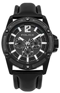 Police Men's Chrono Watch with Leather Strap £38.27 (Prime) @ Amazon