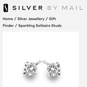 Silver By Mail Free earring just pay £3.95 postage