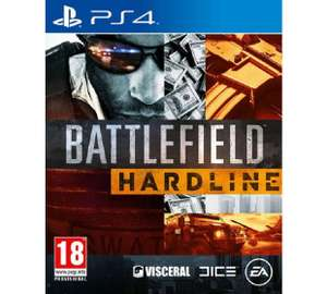 Battlefield Hardline PS4 Game £9.99 @ Argos