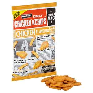 Burtons Fish & Chips Or Chicken - 125G - 50p @ Tesco
