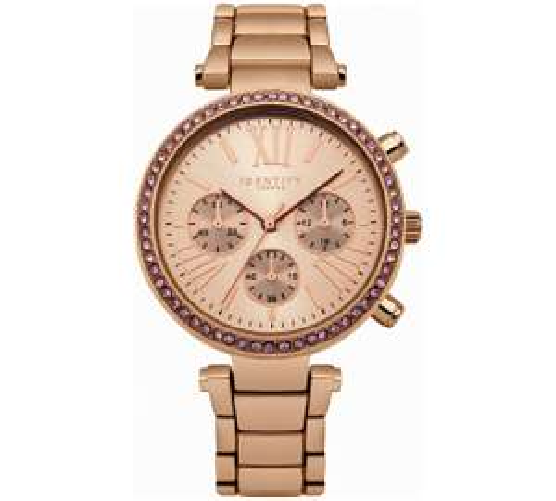 Identity London Rose Pink Stone Set Bracelet Watch £9.99 @ Argos
