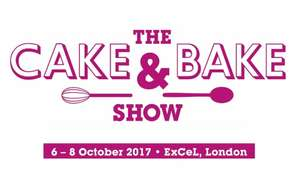 The Cake & Bake Show London Tickets £8 each or 2 for £15 (equivalent to £7.50 each)