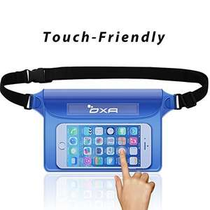 OXA Waterproof Pouch + Strap for Phone, Camera etc. @ Amazon (Add-on-Item)