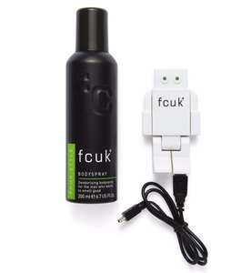 FCUK USB Hub & Body Spray Set (NOW £5, WAS £10) @ Boots