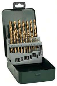 Bosch 19 Piece Metal HSS Titanium Drill Bit Set - was £24.99 now £11.16 @ Amazon Prime exclusive