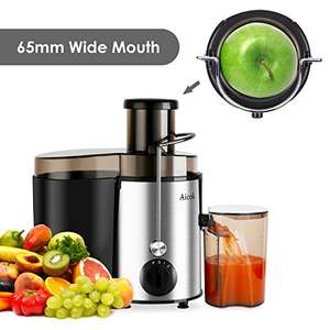 Aicok Juicer Juice Extrator Whole Fruit Juicer High Speed for Fruit and Vegetable Dual Speed Setting Centrifugal Fruit Machine Powerful 400 Watt with Juice Jug and Cleaning Brush, BPA Free £28.75 Sold by Funnyhome and Fulfilled by Amazon