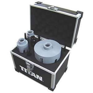 Titan Diamond Core Drill 8 Piece Set £39.99 @ Screwfix