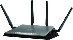 NETGEAR D7800-100UKS Nighthawk AC2600 Dual Band 11 AC (MU-MIMO Wi-Fi) VDSL/ADSL Modem Router for Phone Line Connections - £149.99 @ Amazon