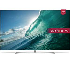 "Argos LG OLED55B7V OLED HDR 4K Ultra HD Smart TV, 55"" with Freeview Play, Dolby Atmos, Picture-On-Metal Design & Crescent Stand, Silver £1,911.65 code TV15"