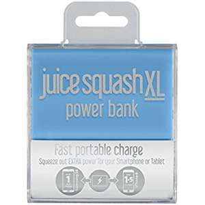 Juice Squash XL 5600maH Portable Power Bank @ Sainsburys instore (Wombourne) - £5