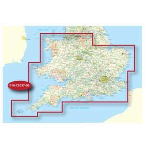 Garmin 1:50K MAP CARD 44 - £12.99 (+£4.99 Delivery) @ Sports Direct
