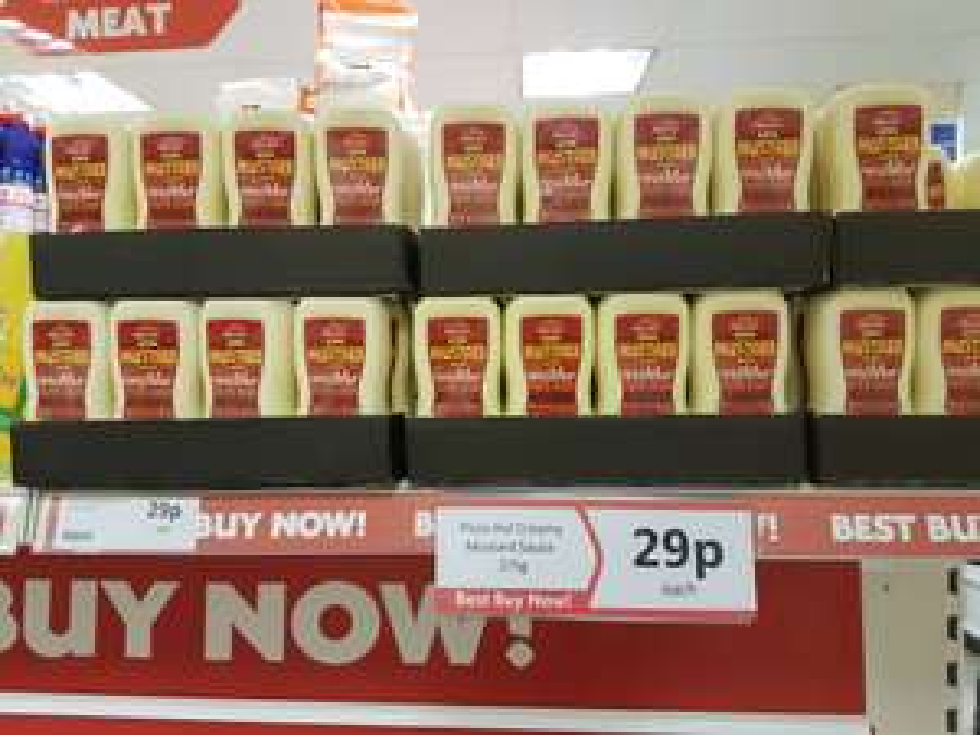 Pizza Hut creamy mustard sauce 29p @ Heron foods