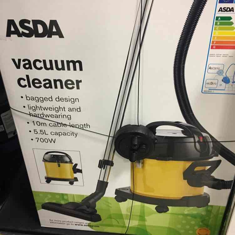 Asda Vacuum cleaner - £4.50 instore @ ASDA - Havant