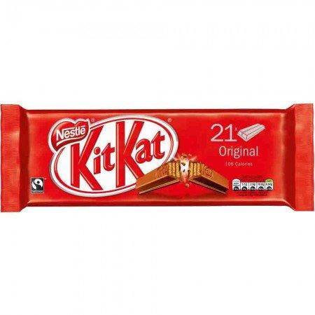 Kit Kat 2 Finger Milk Chocolate Biscuit 21 Pack £1 @ Poundstretcher