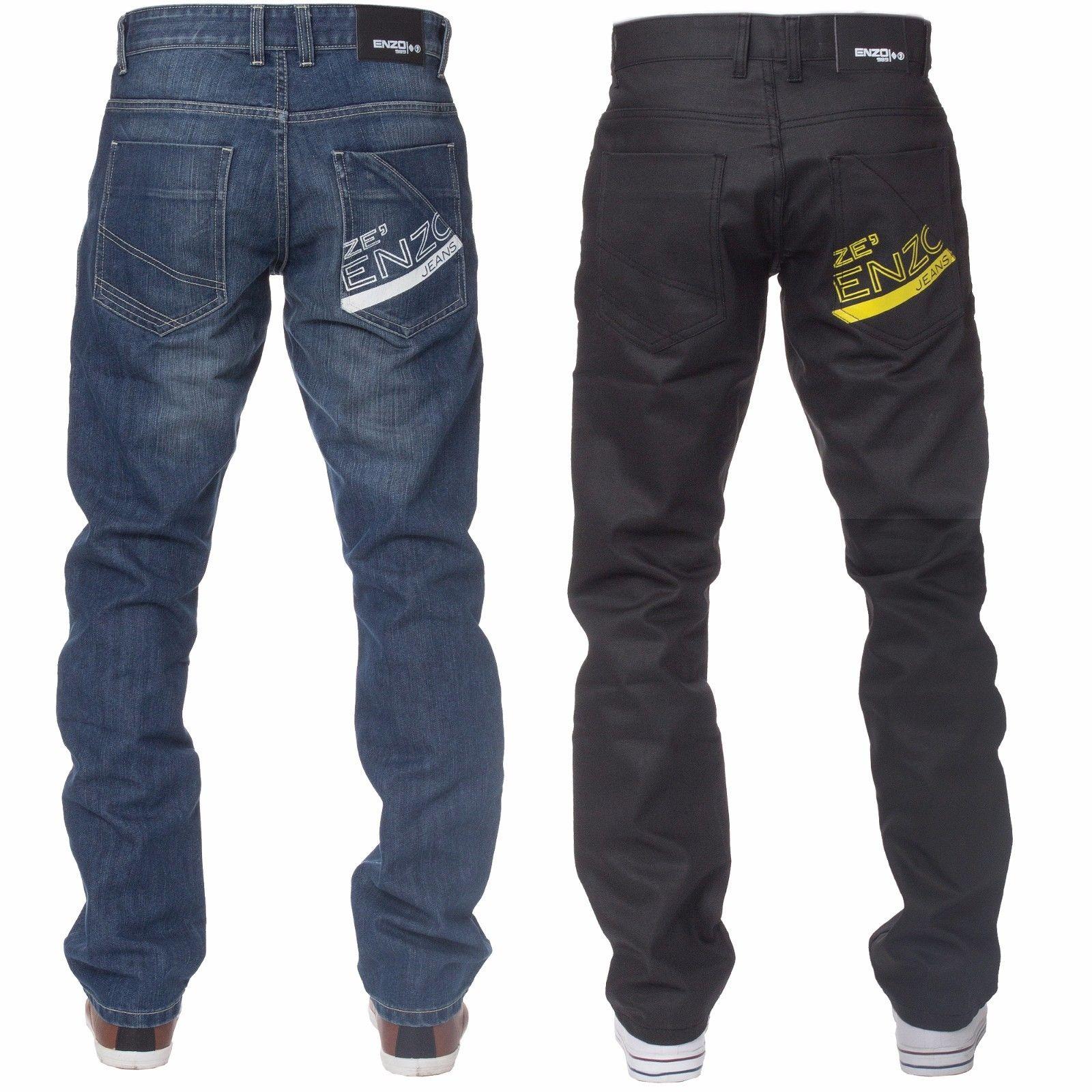 New straight fit mens black stonewash jeans £11.99 @ ebay / raw.denim - daily deals