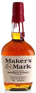 Maker's Mark Bourbon Whisky, 70 cl - £21.99 at Amazon