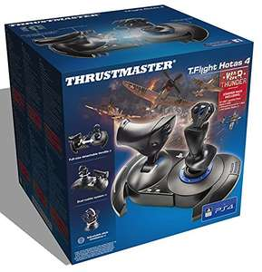 Thrustmaster T-Flight Hotas 4 War Thunder Starter Pack (PS4/Win 7) - £52.99 @ Amazon