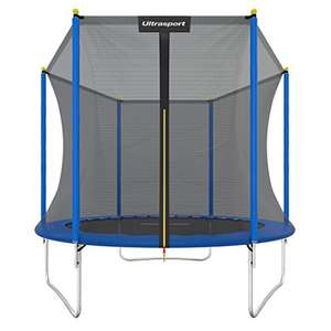 8ft trampoline with netting delivered for £65.15 from Amazon