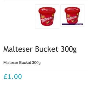 Malteser Bucket 300g - £1 @ Poundshop